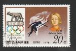 Sellos de Asia - Corea del norte -  1501 M - Jolanda Balas, atletismo, Medalla de oro en las Olimpiadas de Roma 1960