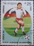 Sellos del Mundo : America : Nicaragua : 1988 Summer Olympics, Seoul