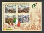 Sellos de Europa - Italia -  Batalla de Calatafimi