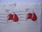 Stamps America - United States -  Pera Roja -. Serie: Frutas.
