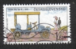 Sellos de Europa - Checoslovaquia -  Automóviles Clasicos,  Tatra NW type B (1902)