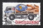 Stamps Czechoslovakia -  Paris-Dakar Rallye (Liaz truck)