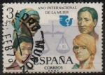 Sellos de Europa - España -  Año internacional d´l´Mujer