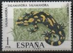 sellos de Europa - España -  Salamandra