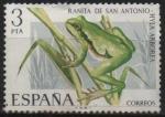 sellos de Europa - España -  Ranita d´San Antonio