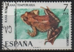 Stamps Europe - Spain -  Rana roja