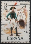Stamps Europe - Spain -  Coromel d´Infanteria d´Linea