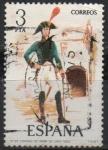 sellos de Europa - España -  Coromel d´Infanteria d´Linea