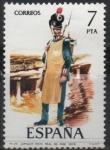 sellos de Europa - España -  Zapador dl Regimiento Real d´Ingenieros