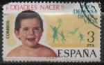 sellos de Europa - España -  Campaña pro defensa d´l´vida