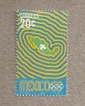 Stamps Mexico -  Juegos Olimpicos 1968