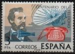 Stamps Spain -  Centenanario dl Telegrafo