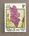 Stamps Laos -  Flores de Laos