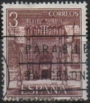 Stamps Spain -  Hostal d´l´Reyes Catolicon