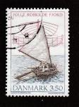 Stamps Denmark -  Embarcación a vela
