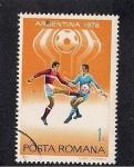 Stamps Romania -  Argentina 1978