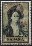 Stamps Spain -  Retrato d´l´Señora Canals