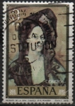 de Europa - España -  Retrato d´l´Señora Canals