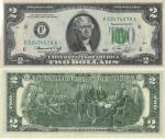 monedas de America - Estados Unidos -  Notas de la Reserva Federal de 1976 - Serie tamaño pequeño de 1976