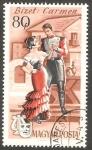 Stamps Hungary -  1921 - Ópera, Carmen, de Bizet