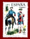 Stamps Europe - Spain -  Edifil 2237 Real cuerpo de artillería 1762 2 NUEVO