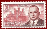 Stamps Europe - Spain -  Edifil 2242 Antonio Palacios 10 NUEVO