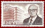 Stamps Europe - Spain -  Edifil 2243 Secundino Zuazo 15 NUEVO