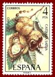 Stamps Europe - Spain -  Edifil 2257 Castaño 4 NUEVO
