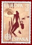 Sellos de Europa - España -  Edifil 2259 Cueva de la Araña Europa 3 NUEVO