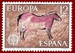 Stamps Europe - Spain -  Edifil 2260 Cueva de Tito Bustillo Europa 12 NUEVO