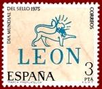 Stamps Europe - Spain -  Edifil 2261 Día mundial del sello 1975 3 NUEVO