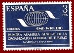 Stamps Europe - Spain -  Edifil 2262 Organización Mundial del Turismo 1975 3 NUEVO
