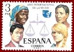 Stamps Europe - Spain -  Edifil 2264 Año internacional de la mujer 3 NUEVO