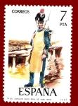 Stamps Europe - Spain -  Edifil 2281 Zapador Rgto. Real de Inge 1809 7 NUEVO