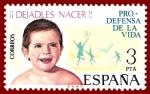 Stamps Europe - Spain -  Edifil 2282 Campaña pro defensa de la vida 3 NUEVO
