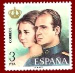 Stamps Europe - Spain -  Edifil 2304 Reyes Juan Carlos I y Sofía 3 NUEVO