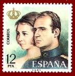 Stamps Europe - Spain -  Edifil 2304 Reyes Juan Carlos I y Sofía 12 NUEVO