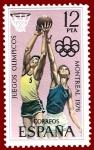 Sellos del Mundo : Europa : España : Edifil 2343 Juegos Olímpicos de Montreal 1976 12 NUEVO