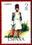 Sellos de Europa - España -  Edifil 2351 Gastador de infanería de La Línea 1815 2 NUEVO