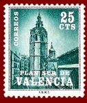 Sellos de Europa - España -  Edifil Valencia 4 Plan Sur Miguelete 0,25 NUEVO