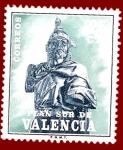 Stamps Europe - Spain -  Edifil Valencia 8 Plan Sur Jaime I 0,25 NUEVO