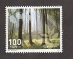 Stamps Switzerland -  Bosque