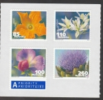Stamps Switzerland -  Flor de Pepo cucurbita