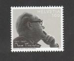 Sellos de Europa - Suiza -  100 Aniv. nacimiento de Max Frisch