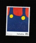Stamps Switzerland -  Obras por artistas discapacitados
