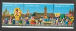 Sellos de Europa - Suiza -  100 años del comité de carnaval de Basilea
