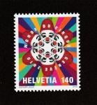 Stamps Switzerland -  Circo mundial
