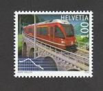Sellos de Europa - Suiza -  Transporte público