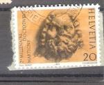 Sellos de Europa - Suiza -  Bimilenario Dc Martgny Y1185