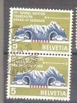 Sellos de Europa - Suiza -  Tunel de San Bernardo Y726